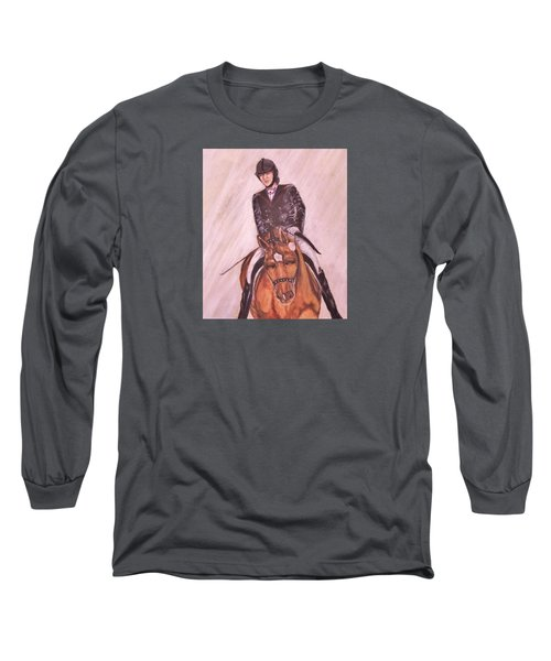 Kendle And Contesse Competing Long Sleeve T-Shirt