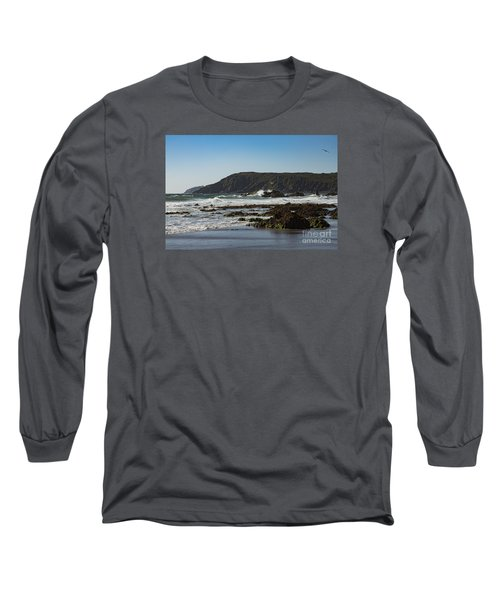 Kennack Sands Long Sleeve T-Shirt by Brian Roscorla