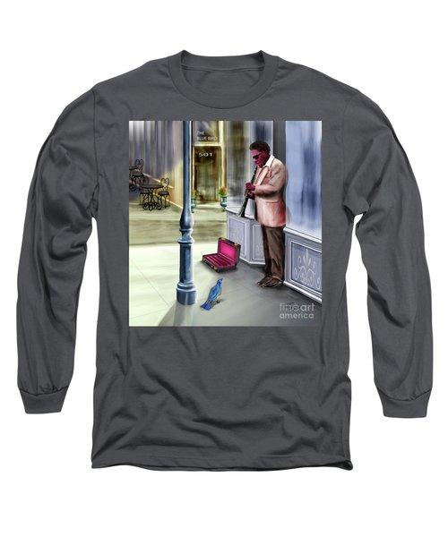 Kentucky Blue Bird Long Sleeve T-Shirt