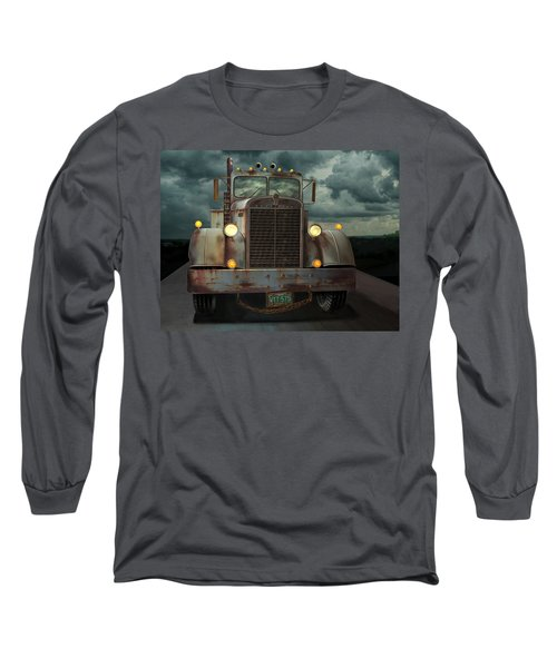 Kenworth Old Workhorse Long Sleeve T-Shirt by Stuart Swartz