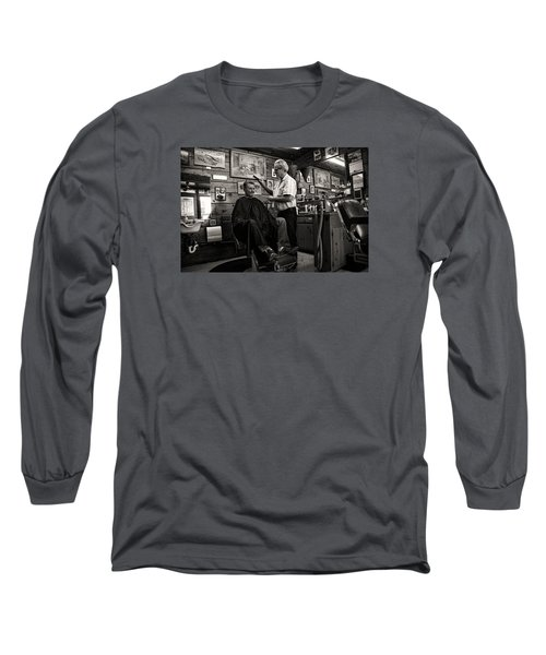 Kernville Barber Shop Long Sleeve T-Shirt