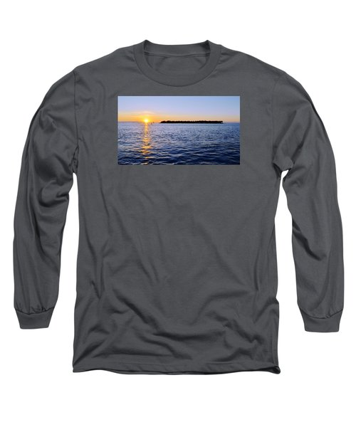Long Sleeve T-Shirt featuring the photograph Key Glow by Chad Dutson