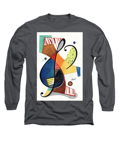 Keys And Clef Long Sleeve T-Shirt