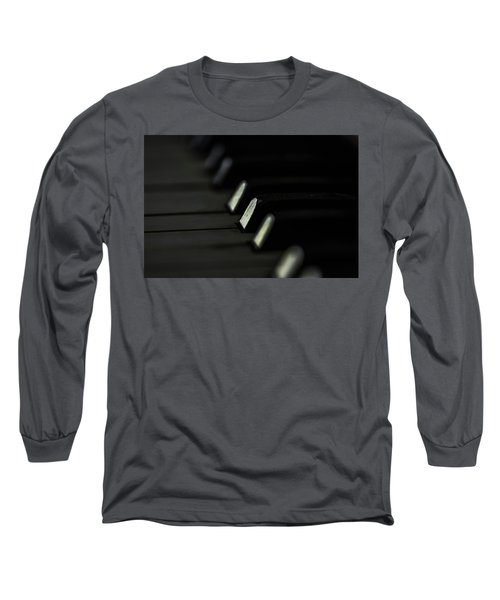 Long Sleeve T-Shirt featuring the photograph Keys by Jay Stockhaus