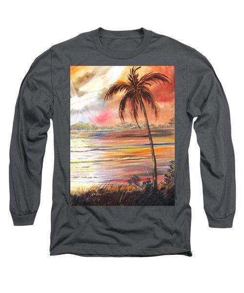 Keys Sunrise, Sunset Long Sleeve T-Shirt