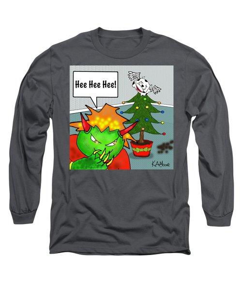 Kid Monsta Xmas 3 Long Sleeve T-Shirt