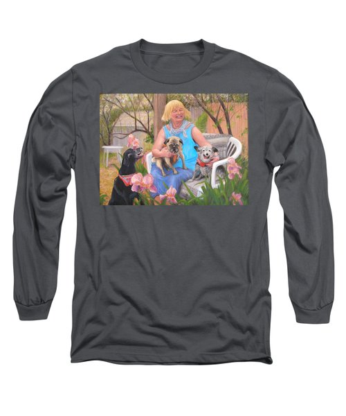 Kindred Spirits Long Sleeve T-Shirt by Donelli  DiMaria