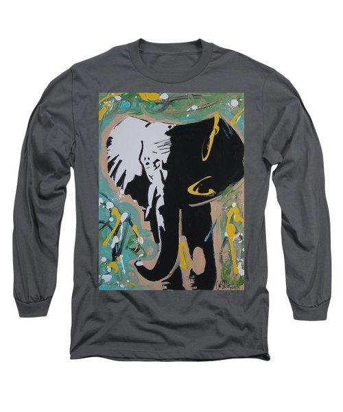 King Elephant Long Sleeve T-Shirt