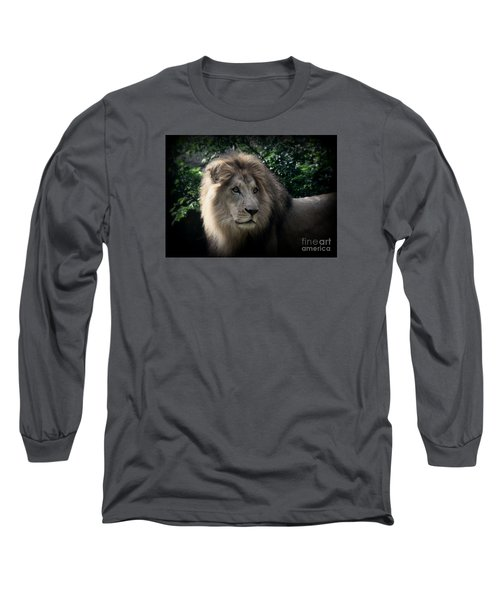 Long Sleeve T-Shirt featuring the photograph King Kamau by Lisa L Silva