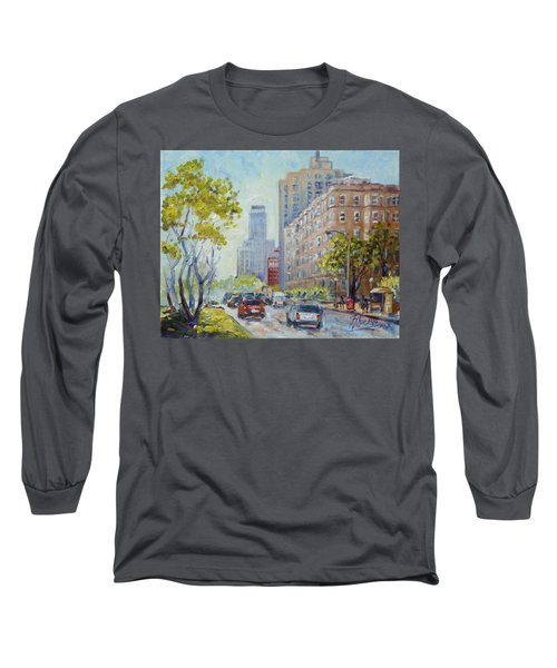 Kingshighway Blvd - Saint Louis Long Sleeve T-Shirt by Irek Szelag