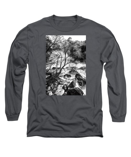 Kirishima Long Sleeve T-Shirt by Hayato Matsumoto