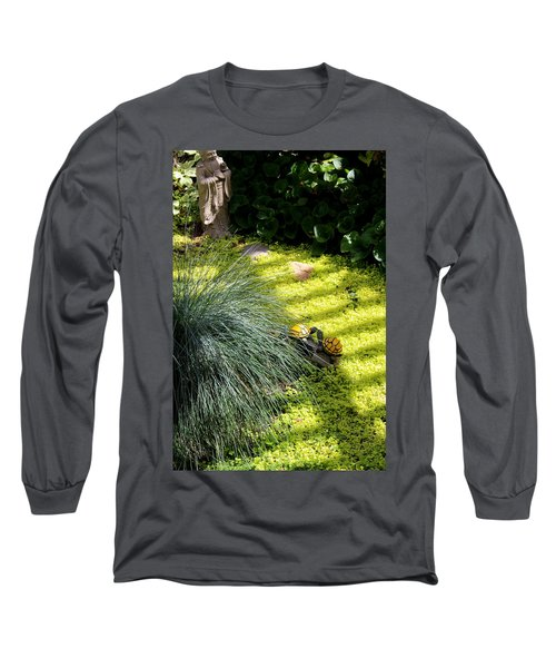 Long Sleeve T-Shirt featuring the photograph Kissing Cousins by Marie Neder