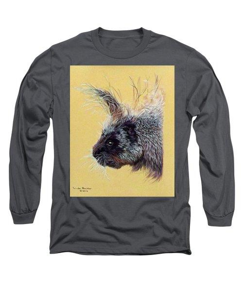 Kit Long Sleeve T-Shirt by Linda Becker