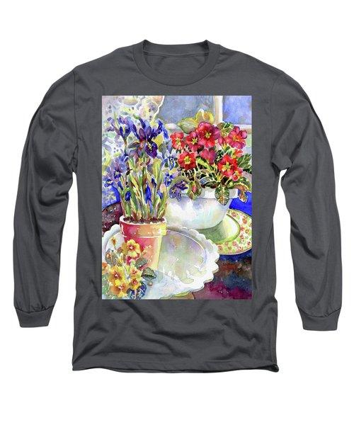 Kitchen Primrose I Long Sleeve T-Shirt