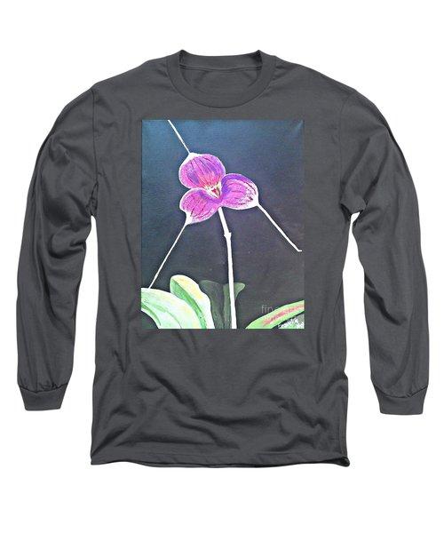 Kite Orchid Long Sleeve T-Shirt by Francine Heykoop