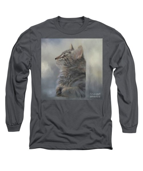 Kitten Zada Long Sleeve T-Shirt