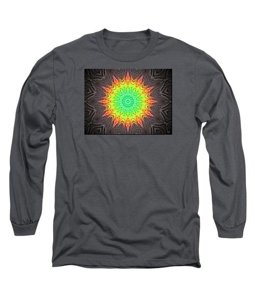 Klidanature Sun  Long Sleeve T-Shirt by Debra     Vatalaro