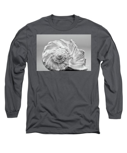 Long Sleeve T-Shirt featuring the photograph Knobbed Whelk by Benanne Stiens