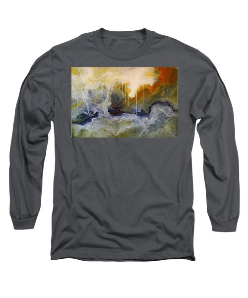 Knowing Long Sleeve T-Shirt by Theresa Marie Johnson