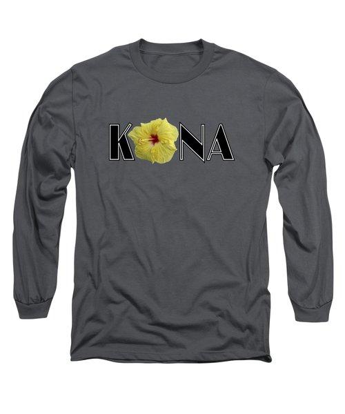 Kona Hibiscus Long Sleeve T-Shirt