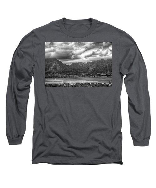 Ko'olau And H-3 Long Sleeve T-Shirt