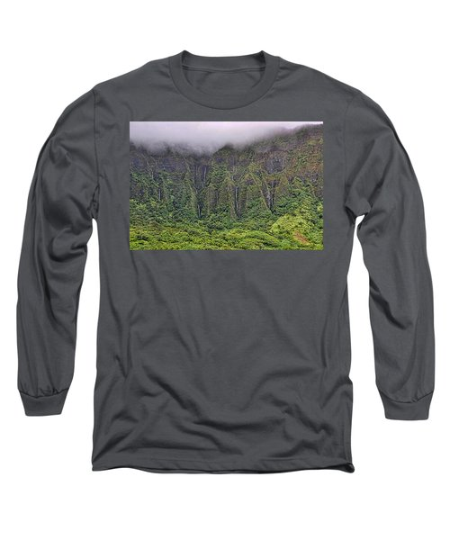 Ko'olau Waterfalls Long Sleeve T-Shirt