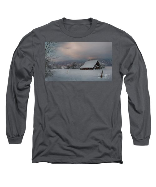 Kootenai Valley Barn Long Sleeve T-Shirt