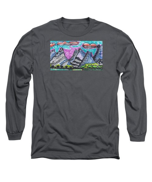 Korean Hills Long Sleeve T-Shirt