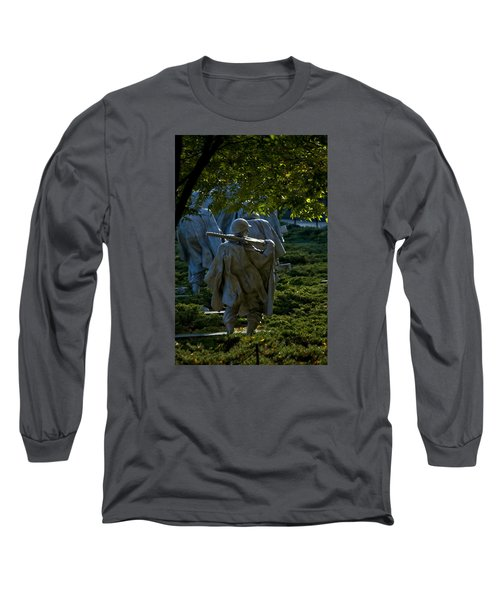 Korean War Memorial Long Sleeve T-Shirt