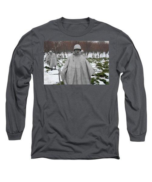 Korean War Memorial Long Sleeve T-Shirt