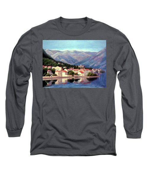 Kotor Montenegro Long Sleeve T-Shirt