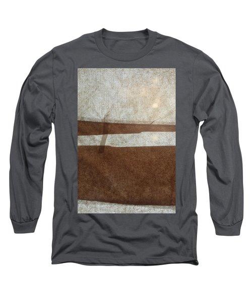Kraft Paper And Screen Seascape Long Sleeve T-Shirt