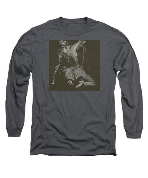 Kroki-2015-04-11-figure-drawing-white-chalk-marica-ohlsson-marica-ohlsson Long Sleeve T-Shirt