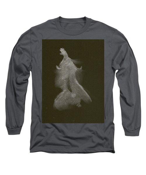 Kroki 2014 10 04_16 Figure Drawing White Chalk Long Sleeve T-Shirt