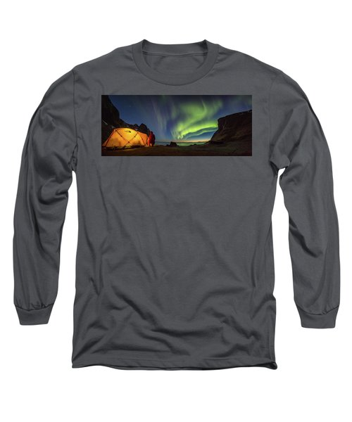Kvalvika Under The Lights Long Sleeve T-Shirt