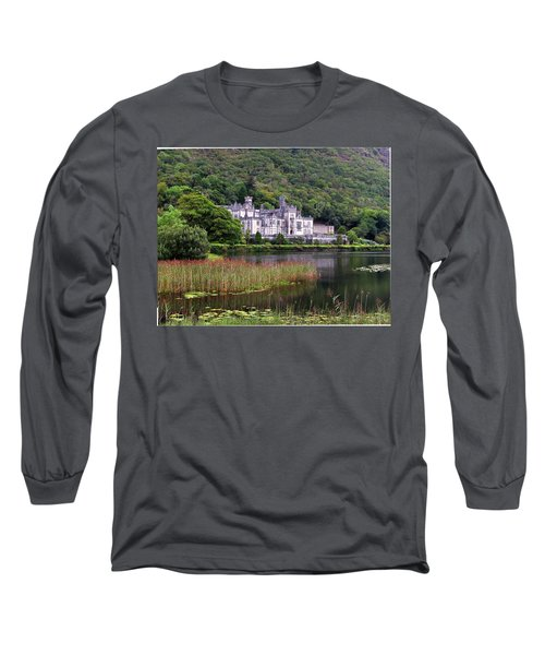 Kylemore Abbey, County Galway, Long Sleeve T-Shirt