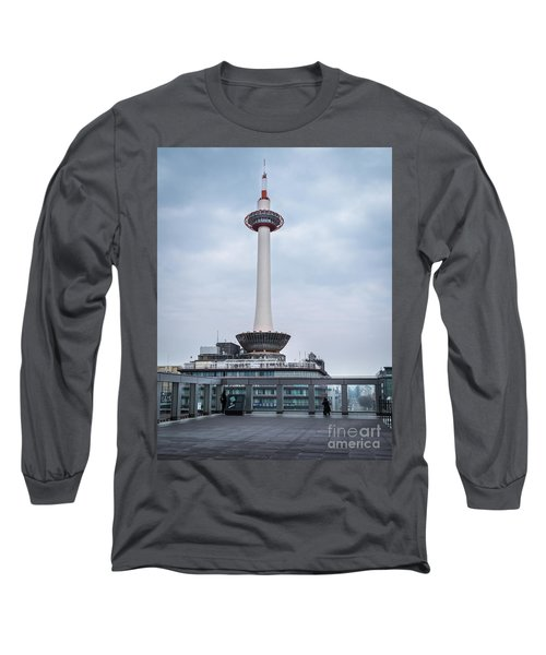 Kyoto Tower, Japan Long Sleeve T-Shirt