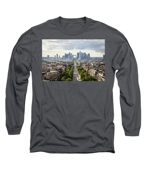 La Defense Paris Long Sleeve T-Shirt
