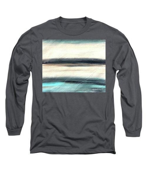 La Jolla #1 Seascape Landscape Original Fine Art Acrylic On Canvas Long Sleeve T-Shirt