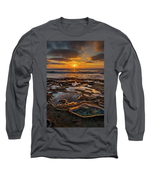 La Jolla Tidepools Long Sleeve T-Shirt by Peter Tellone