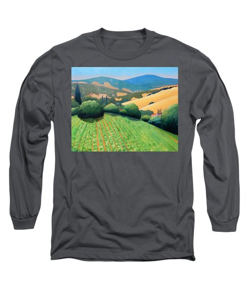 La Rusticana Revisited Long Sleeve T-Shirt by Gary Coleman