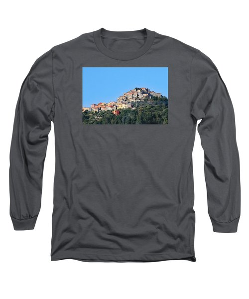 La Spezia Thru The Heart Of Tuscany To Florence Long Sleeve T-Shirt by Allan Levin
