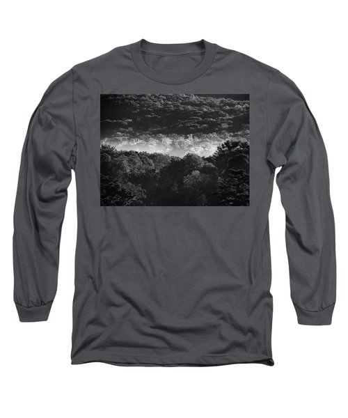 La Vallee Des Fees Long Sleeve T-Shirt by Steven Huszar