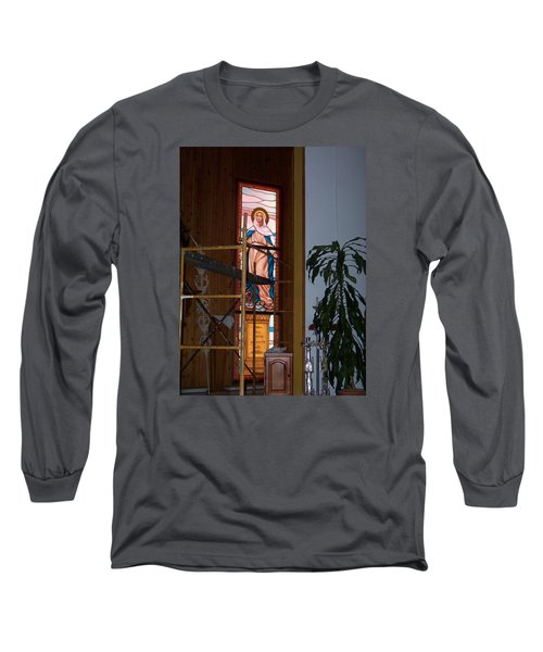 La Virgen Milagrosa Long Sleeve T-Shirt