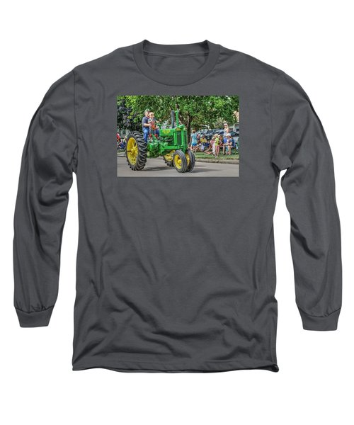 Labor Day And John Deere Long Sleeve T-Shirt