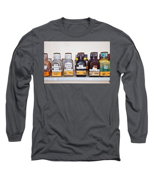 Laboratory Chemicals Long Sleeve T-Shirt