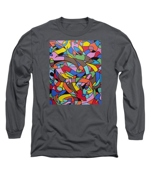 Labrynith Long Sleeve T-Shirt by Angelo Thomas