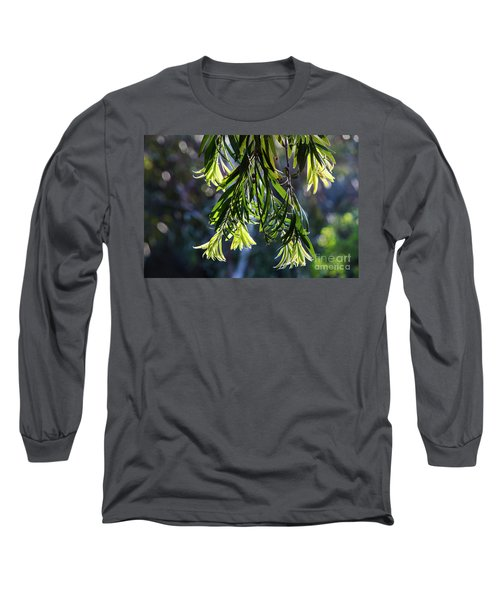 Lacey Leaves Long Sleeve T-Shirt