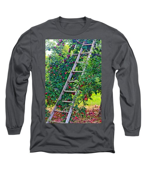 Ladder To The Top Long Sleeve T-Shirt
