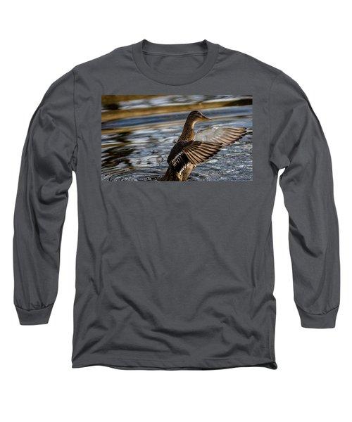 Lady Duck Long Sleeve T-Shirt